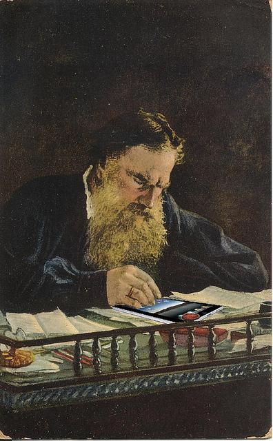 Tolstoi-ipad