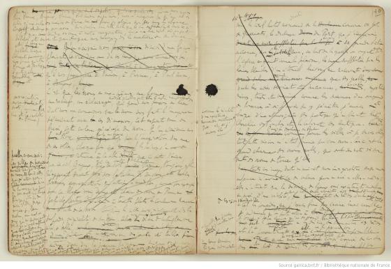 Manuscrit Proust