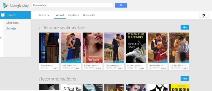 Livres Google Play