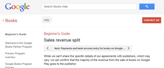 Rémunération Google Play
