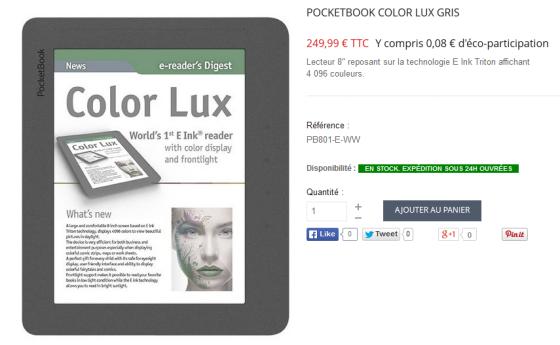 Prix Color Lux