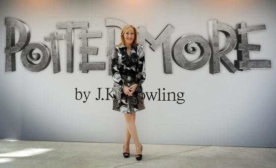 JK Rowling Pottermore