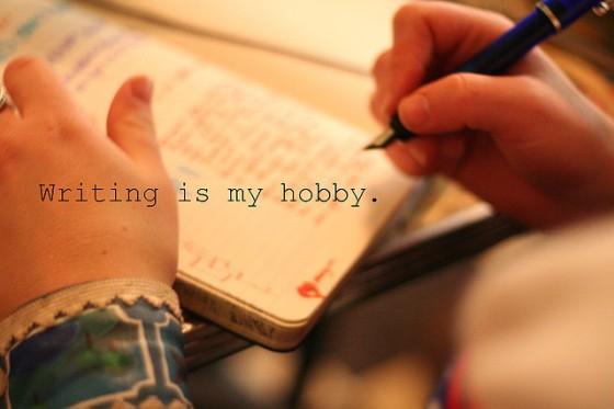 passion d'écrire