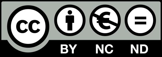 La licence BY-NC-ND incite avant tout au partage, sans commercialisation ni modification.