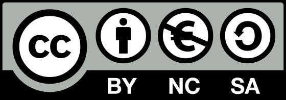 La licence CC BY-NC-SA interdit la commercialisation de l'oeuvre,