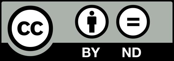 La licence CC BY ND interdit toute modification de l'œuvre.