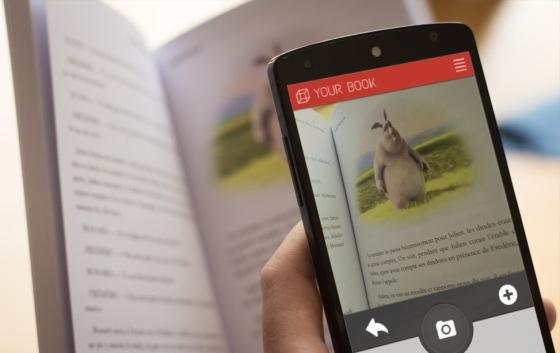 Snapbook apporte de l'interactivité au livre papier
