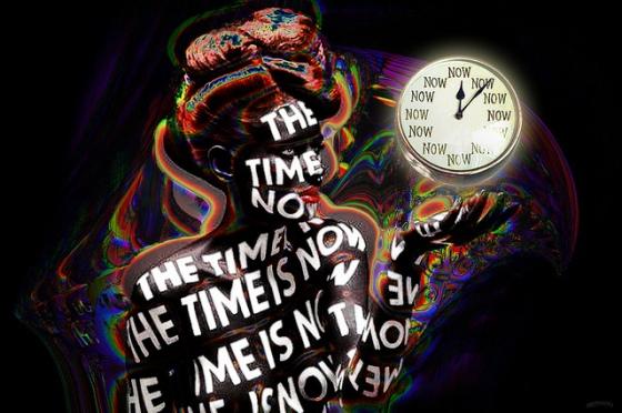 Le temps d'écrire.
