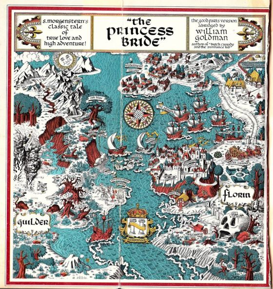 The Princess Bride carte